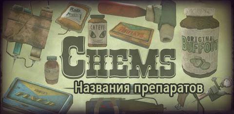 F4 Названия препаратов для Fallout 4