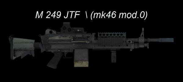Штурмовой пулемет М249 JTF v 1.2  для Fallout: New Vegas