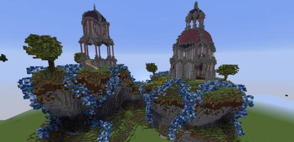 Two Towers для Майнкрафт 1.10.2