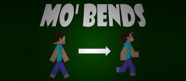 Mo' Bends для Майнкрафт 1.10.2