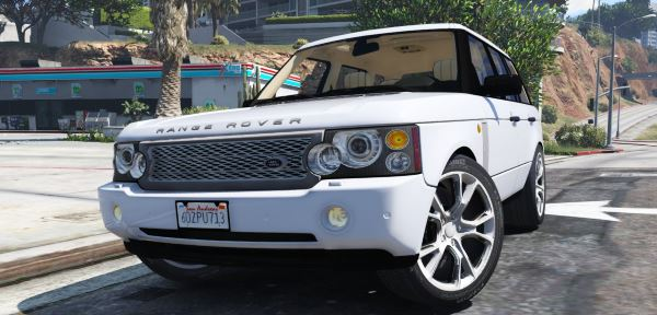 Range Rover Supercharged 2010 для GTA 5