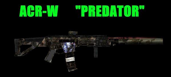 Штурмовая винтовка ACR-W PREDATOR для Fallout: New Vegas