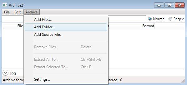 Archive2 - BSA-packer для сжатия архивов в форматы *.ba2 *.tdx для Fallout 4