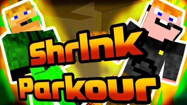 Shrink Parkour для Майнкрафт 1.10.2