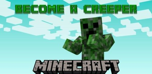 Creeper Morph для Майнкрафт 1.10.2