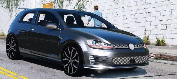 Volkswagen Golf GTI Mk7 Stock v 2.0 для GTA 5