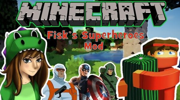 Superheroes by FiskFille для Майнкрафт 1.7.10