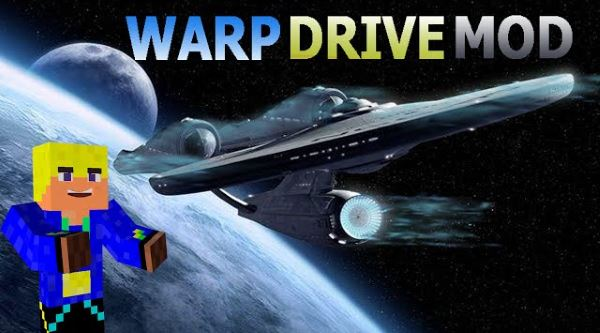 Warp Drive для Майнкрафт 1.7.10