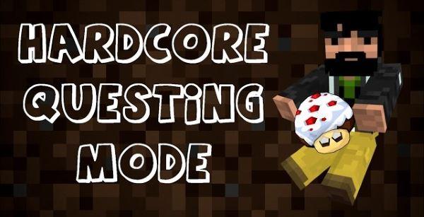 Hardcore Questing Mode для Майнкрафт 1.10.2
