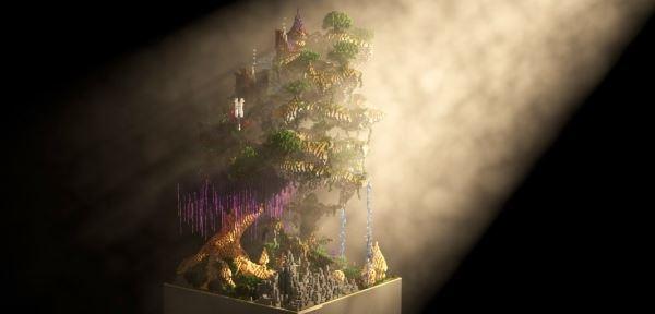 The Enchanted Forest для Майнкрафт 1.10.2