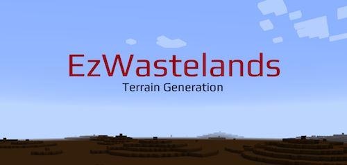 ezWastelands для Майнкрафт 1.10.2