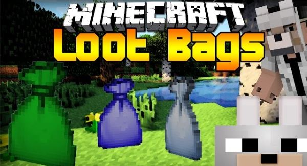 LootBags для Майнкрафт 1.10.2