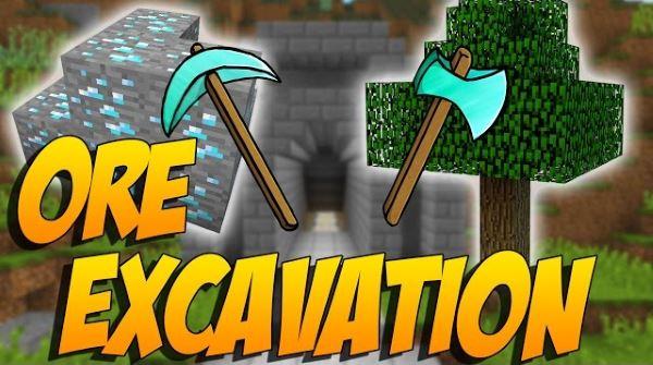 Ore Excavation для Майнкрафт 1.10.2