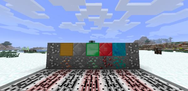 M-Ore для Майнкрафт 1.10.2