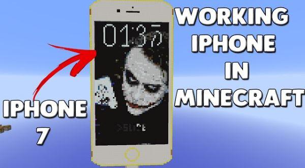 iPhone 6 для Майнкрафт 1.8.9