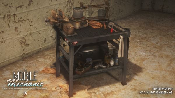Мобильная мастерская v 1.1a для Fallout 4