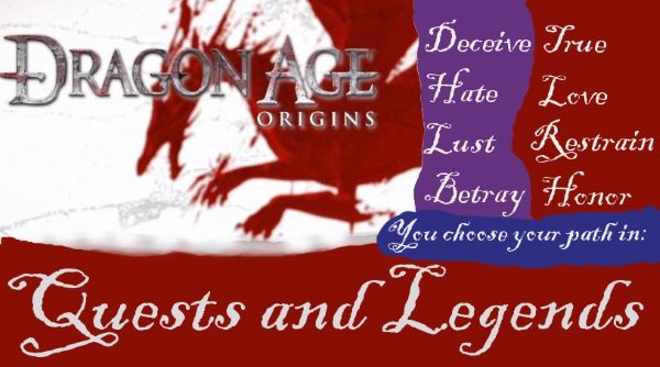 Quests and Legends v 1.6 для Dragon Age: Origins