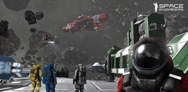 Космические Инженеры / Space Engineers [v 01.152.002] (2014) PC | RePack