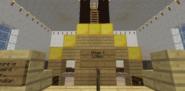 Alpha Tower Parkour для Майнкрафт 1.10.2