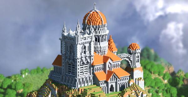 Hillside Castle для Майнкрафт 1.10.2