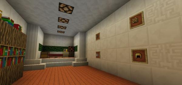 Piston House для Майнкрафт 1.10.2