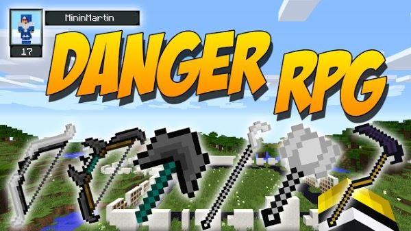 DangerRPG для Майнкрафт 1.7.10