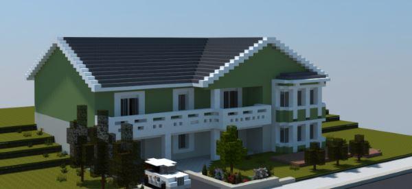 Realistic Family House для Майнкрафт 1.10.2