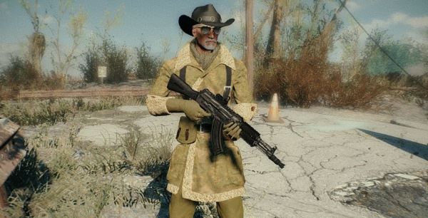 Sheepskin coat для Fallout 4