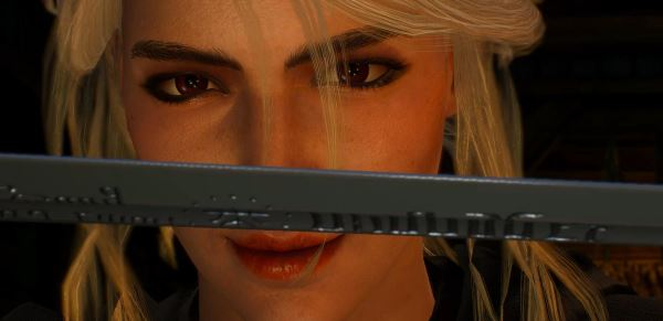 Ciri Face 4k Retextures New Makeup для Ведьмак 3