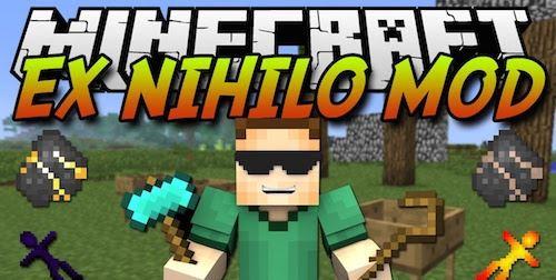 Ex Nihilo Omnia для Майнкрафт 1.10.2