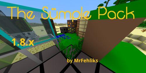 Sümple Pack для Майнкрафт 1.8.9
