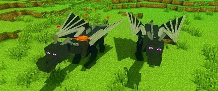 Dragon Mounts для Майнкрафт 1.10.2