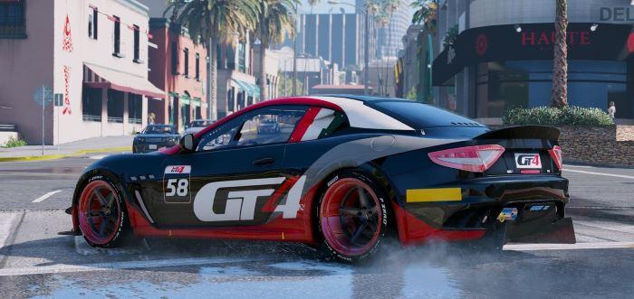 Maserati GT MC GT4 для GTA 5