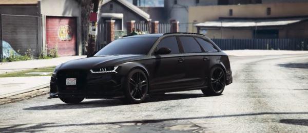 Audi RS6 C7 Avant для GTA 5
