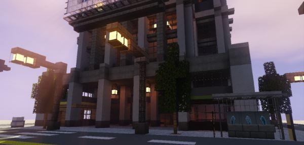 Modern Building 2 для Майнкрафт 1.10.2