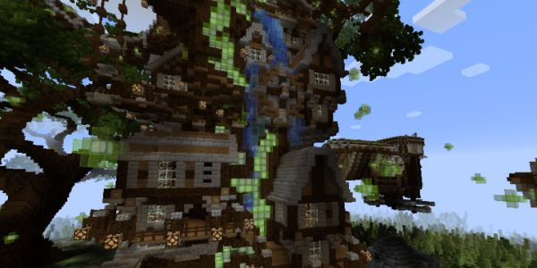 Enchanted Woods для Майнкрафт 1.10.2