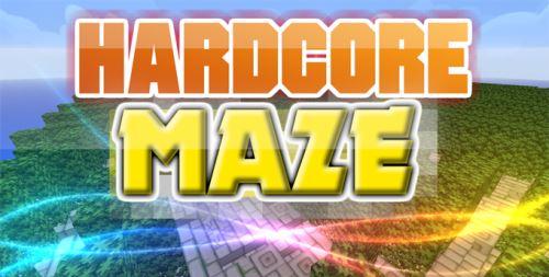 Hardcore MAZE для Майнкрафт 1.10.2