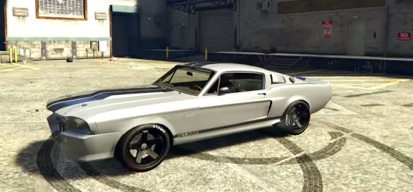 Shelby GT500 Eleanor для GTA 5