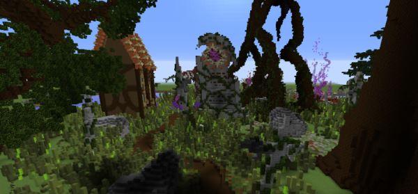 Ophelia для Майнкрафт 1.10.2