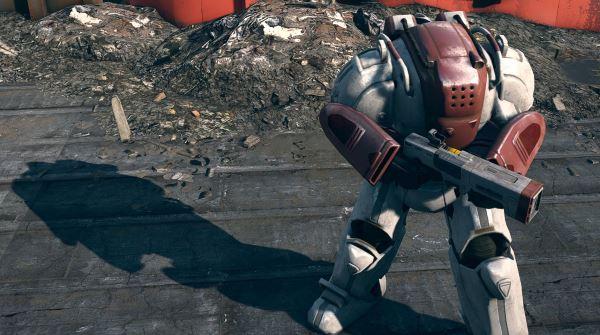 Силовая броня Института - Institute Power Armor для Fallout 4