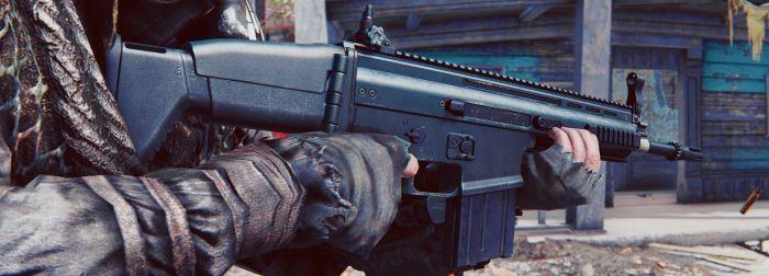 SCAR-H для Fallout 4