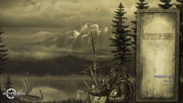 Заставка Нордов для TES V: Skyrim