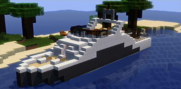 Modern house для Майнкрафт 1.10.2
