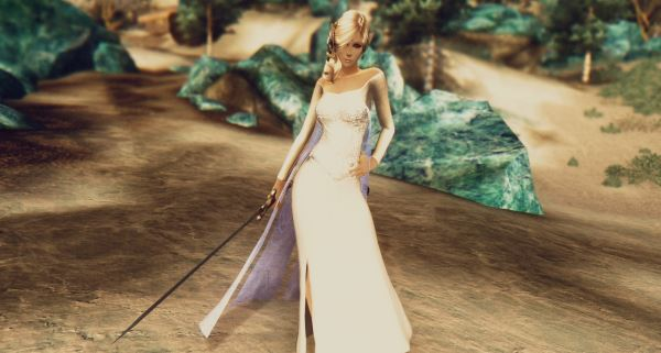 Платья Эльзы - Frozen Elsa Dress v 2.0 для TES IV: Oblivion