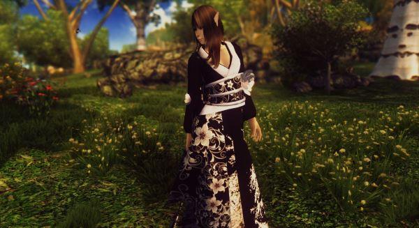 Японское платье - JP Dress для TES IV: Oblivion