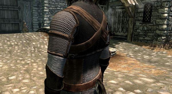 Сет брони Ведьмака для TES V: Skyrim