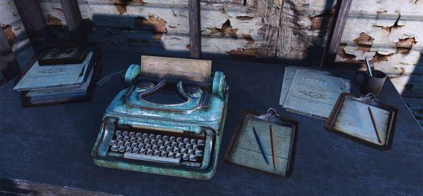 Декоративные мелочи от Dino - Dino's Decorations для Fallout 4
