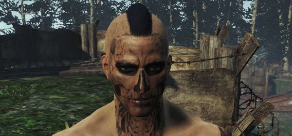 "Грим в стиле ""Zombie Boy"" (Facepaint ""Zombie Boy"") для Fallout 4"