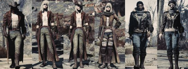 Мода Пустоши - Wasteland fashion для Fallout 4
