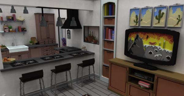 Living Room для Майнкрафт 1.10.2
